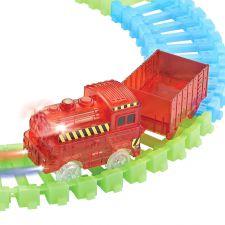 TRAINS LUMINEUX LOT DE 2