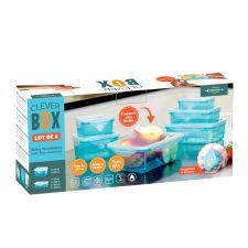CLEVER BOX BOITES HERMETIQUES LOT DE 6