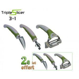 TRIPLE SLICER LOT DE 2
