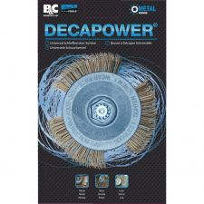 DECAPOWER - BROSSE SPECIAL METAL