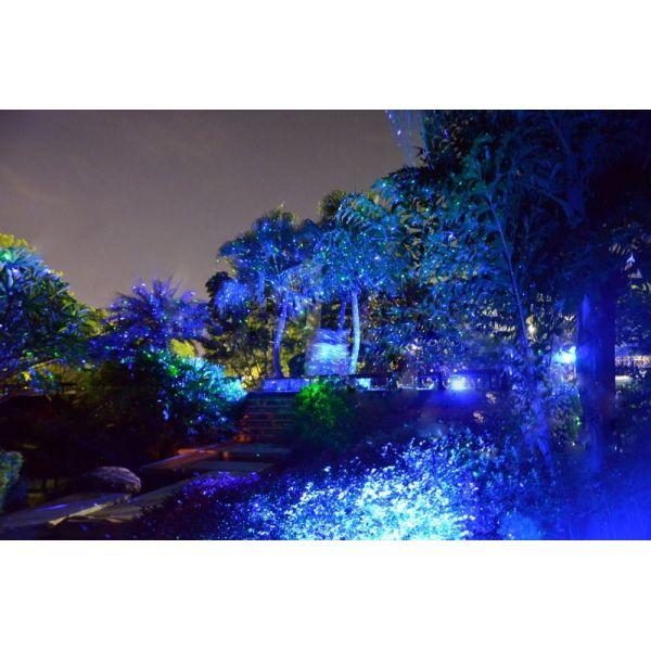 Lightstars projecteur laser bicolore tv for Projecteur laser jardin