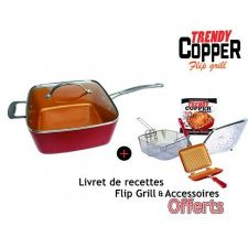 TRENDY COPPER + FLIP GRILL
