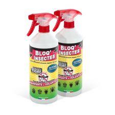 BLOQ INSECTES LOT DE 2