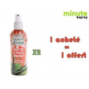 MINUTE SPRAY LOT DE 2